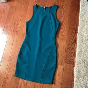 Forever 21 Teal Bodycon Dress